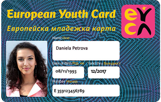 European Youth Card Discount accepted
