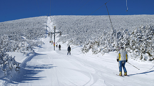 Trails and equipment Borovets
