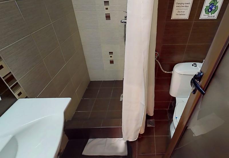 BathroomDouble room standart hotel Ela Borovets