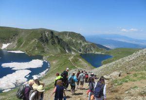 Рилски езера, туризъм през лятото