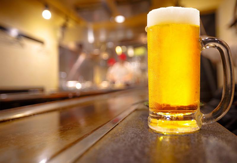 Beer at Lobby bar hotel ELa Borovets