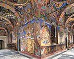 Murals Central Church Rilski Monastery Outside